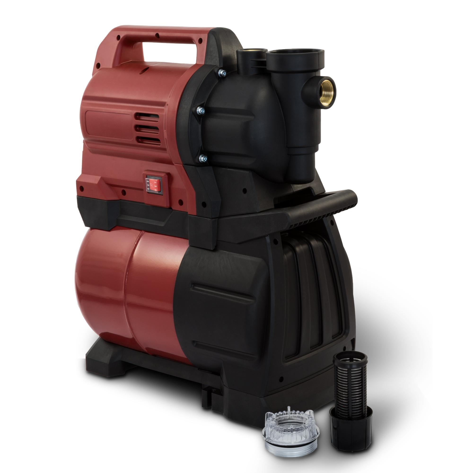 1300 watt hauswasserwerk 4500 l h gartenpumpe wasserpumpe pumpe 48 meter ebay. Black Bedroom Furniture Sets. Home Design Ideas