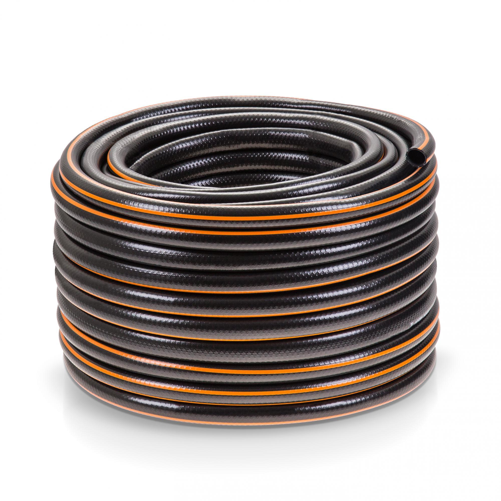 0 74 m 3 4 39 39 50 meter gewebe gartenschlauch schwarz wasserschlauch black line ebay. Black Bedroom Furniture Sets. Home Design Ideas